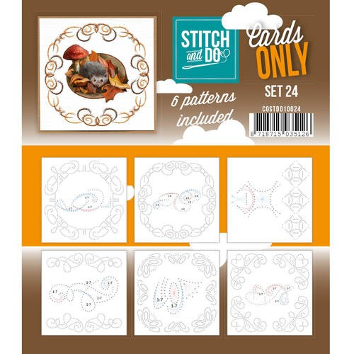 Stitch & Do - Cards only - Set 24.