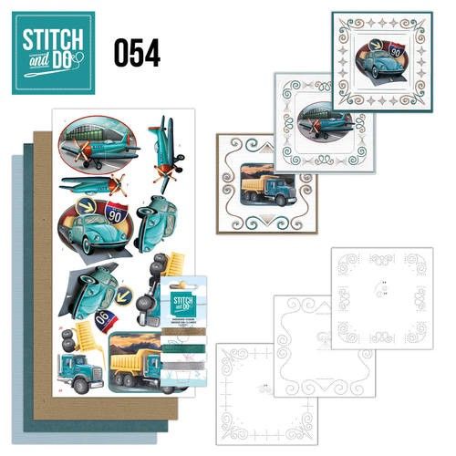 Stitch and Do 54 - Vintage Vehicles.