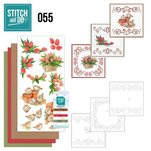 Stitch and Do 55 - Garden Classics.