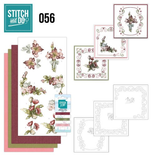 Stitch and Do 56 - Fantastic Flowers.