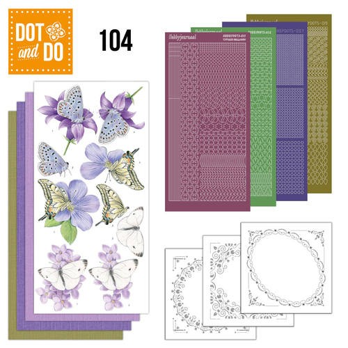 Dot and Do 104 - Butterflies.