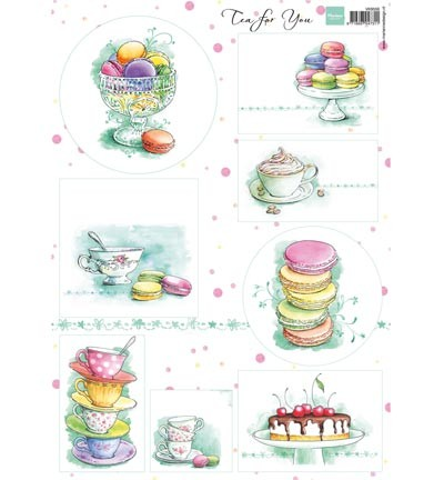 Marianne Design Tea for you 1