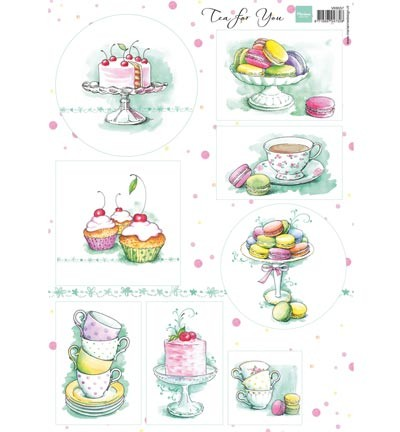 Marianne Design Tea for you 2