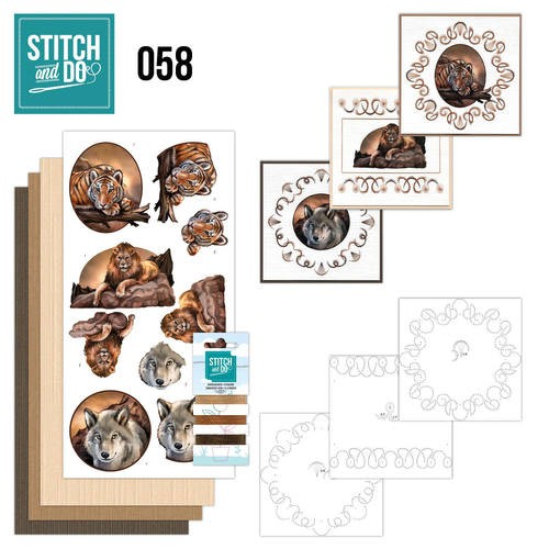 Stitch and Do 58 - Wild Animals.
