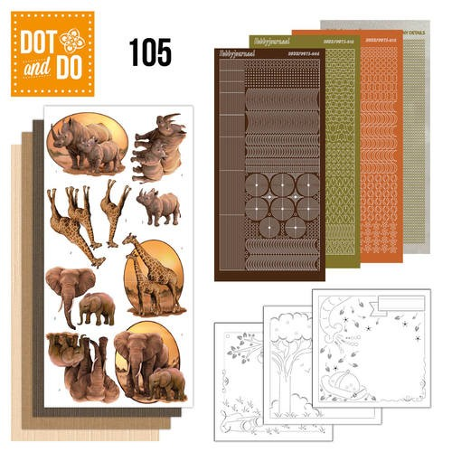 Dot and Do 105 - Wild Animals.