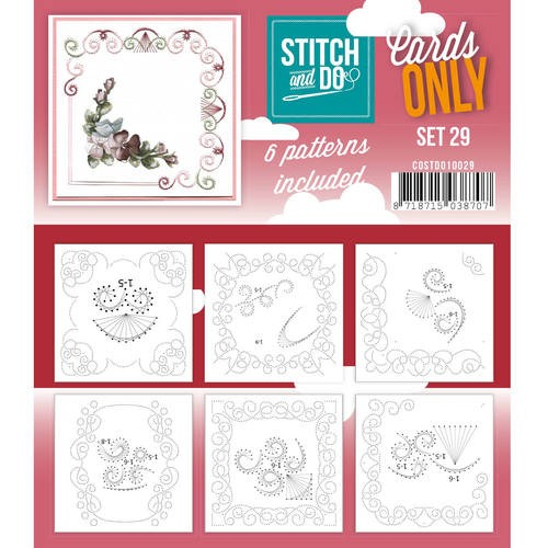 Stitch & Do - Cards only - Set 29.