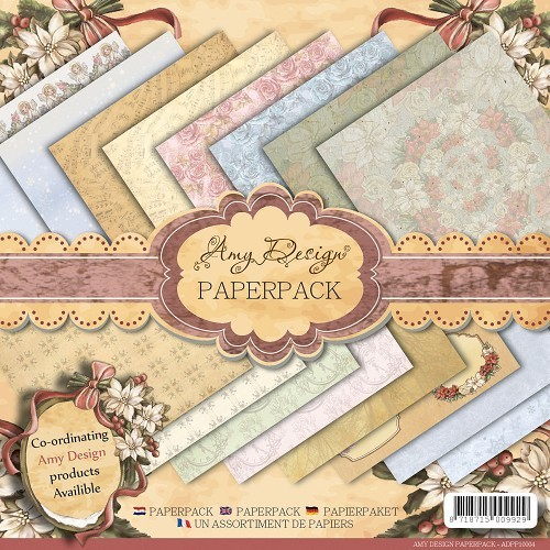 Paperpack - Amy Design - Vintage Christmas Collection.