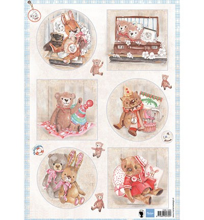 Marianne Design Teddy bears 2