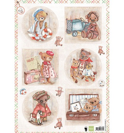 Marianne Design Teddy bears 1