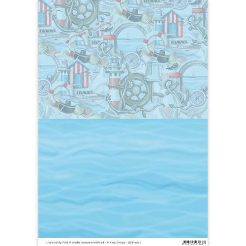 Backgroundsheets - Amy Design - Maritime