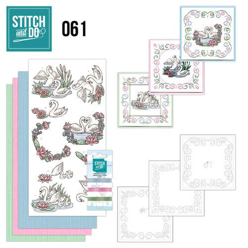 Stitch and Do 61 - Swans.