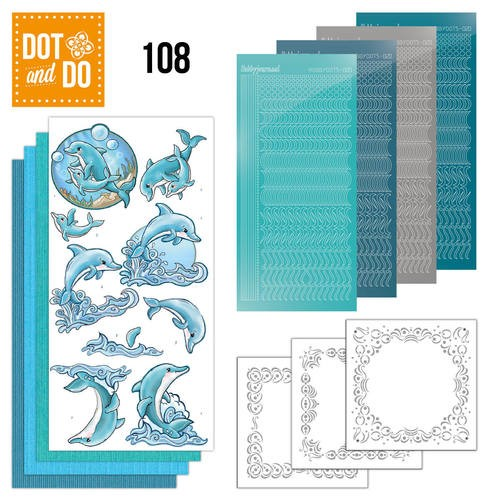 Dot and Do 108 - Dolphins.