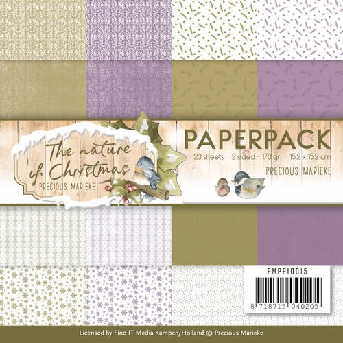Paperpack - Precious Marieke - The Nature of Christmas.