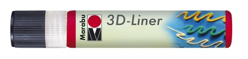 3D Liner 25 ML - Kersenrood.