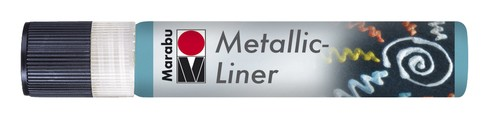 Metallic Liner 25 ML - Petrol.