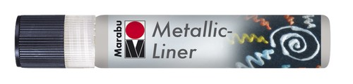 Metallic Liner 25 ML - Zilver.