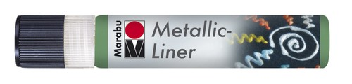 Metallic Liner 25 ML - Donkergroen.