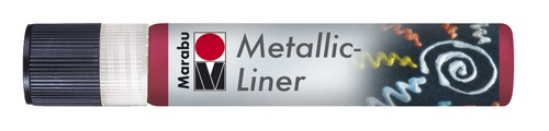 Metallic Liner 25 ML - Rood.