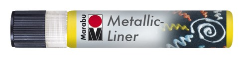 Metallic Liner 25 ML - Geel.