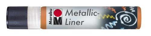 Metallic Liner 25 ML - Oranje.