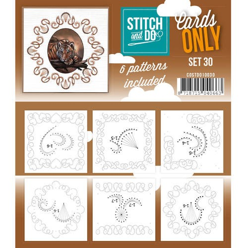 Stitch & Do - Cards only - Set 30.
