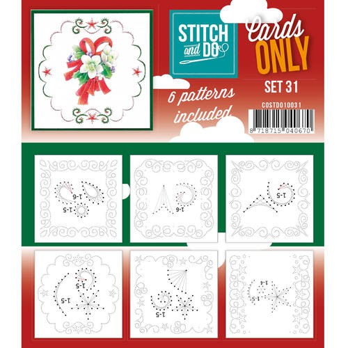 Stitch & Do - Cards only - Set 31.