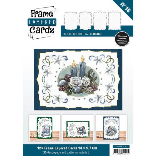 Layered Frame Cards - C6. nr. 16
