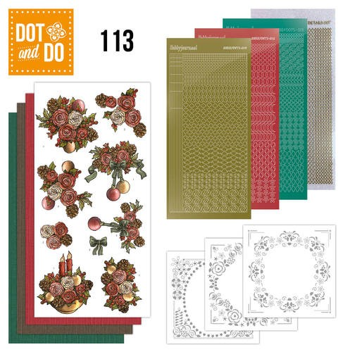 Dot and Do 113- Christmas Flowers.