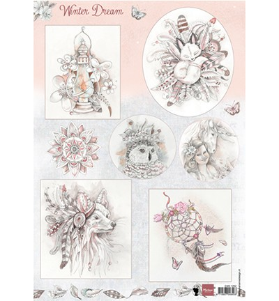 Marianne Design Winter dream – pink
