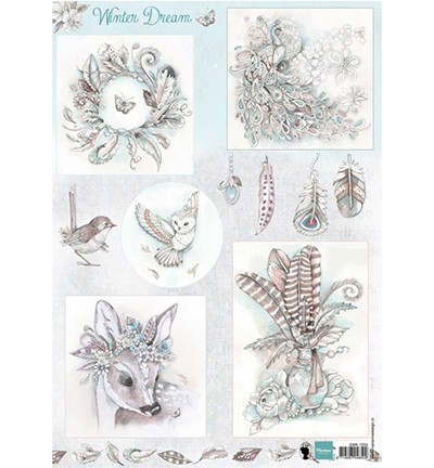 Marianne Design Winter dream – blue