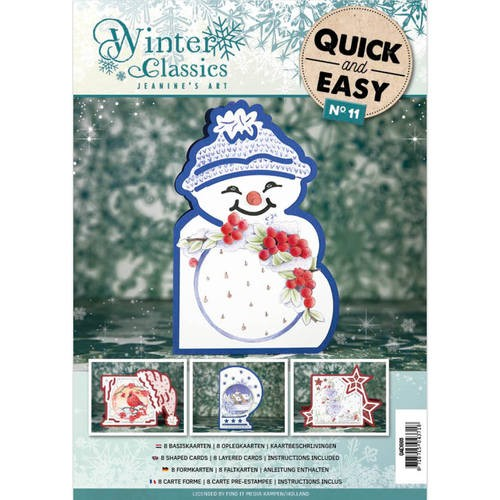 Quick and Easy 011 - Jeanine`s Art Winter Classics.