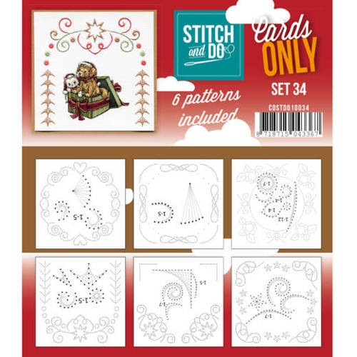 Cards only stitch 34.