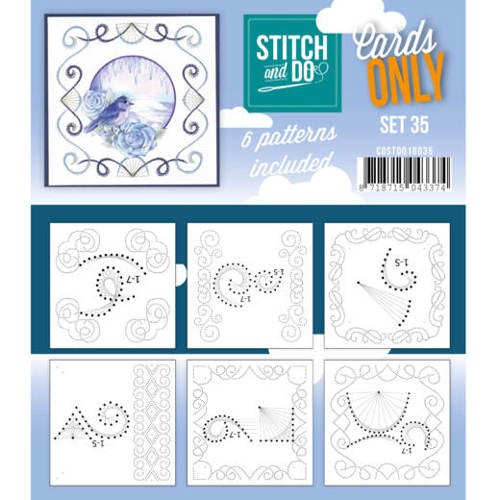 Cards only stitch 35.