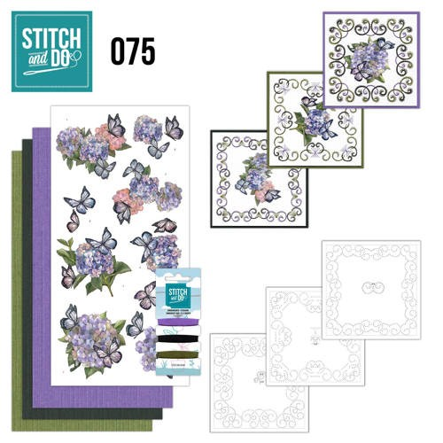 Stitch and Do 75 Amy Design - Hortensia.