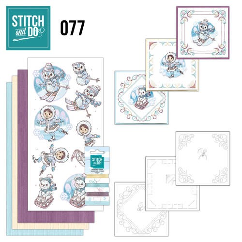 Stitch and Do 77 - Winter Fun.