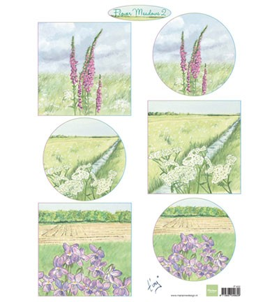 Marianne Design Tiny`s flower meadow 2