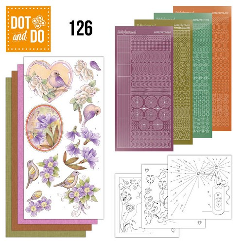Dot and Do 126 - Vintage Flowers.