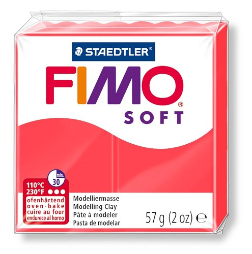 Fimoklei soft nr. 40 flamingo.