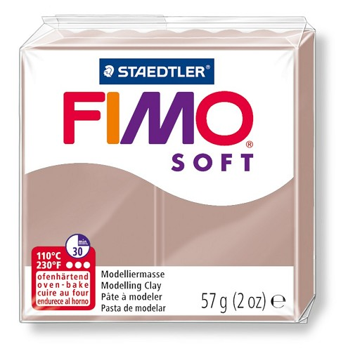 Fimoklei soft nr. 87 taupe.