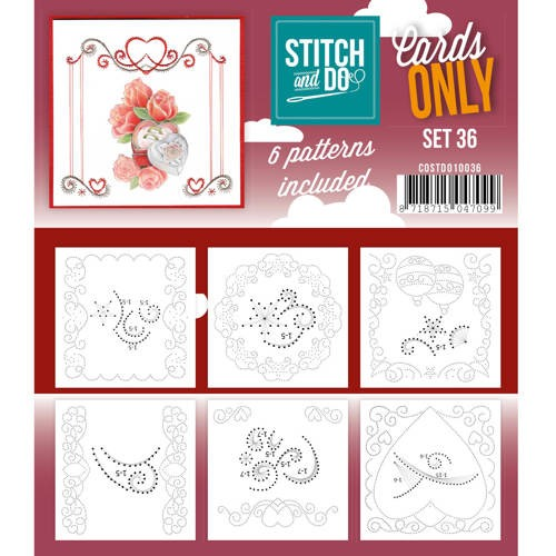 Cards only stitch 36.