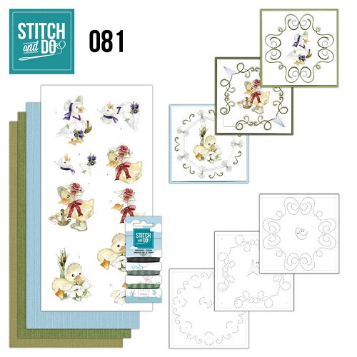 Stitch and Do 81 - Voorjaarsdieren.