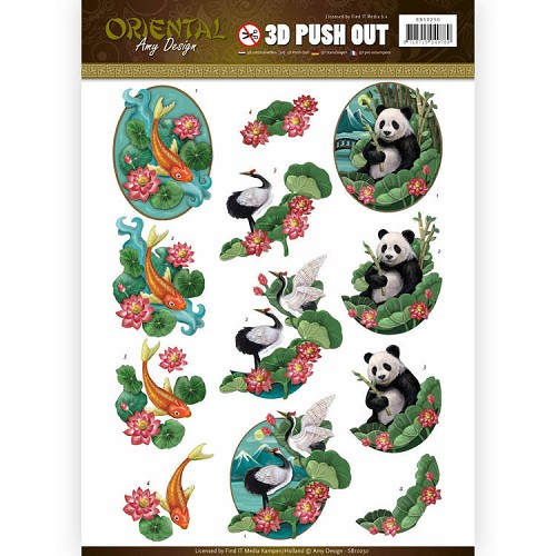 Push Out - Amy Design - Oriental - Animals.