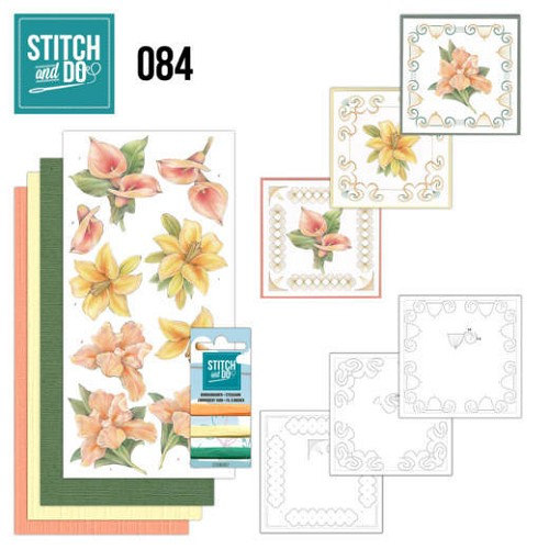 Stitch and Do 84 - Yellow Flowers.