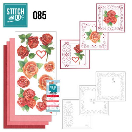 Stitch and Do 85 - Roses.