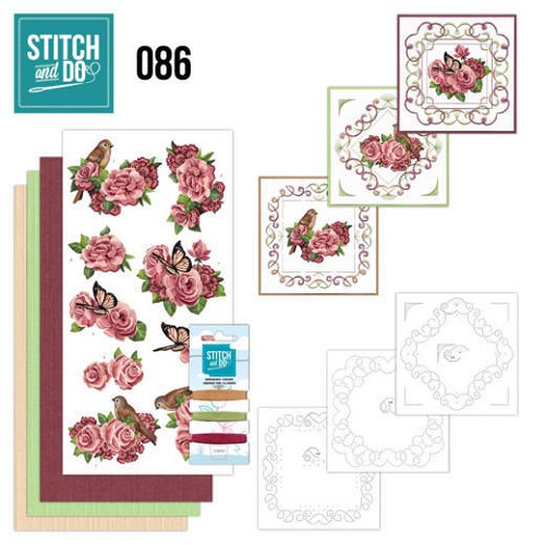 Stitch and Do 86 - Birds and Roses.
