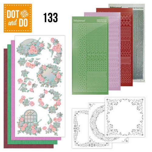 Dot and Do 133 - Birds and Roses.