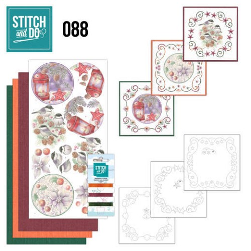 Stitch and Do 88 - Christmas Florals.
