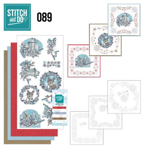 Stitch and Do 89 - Christmas Dreams.