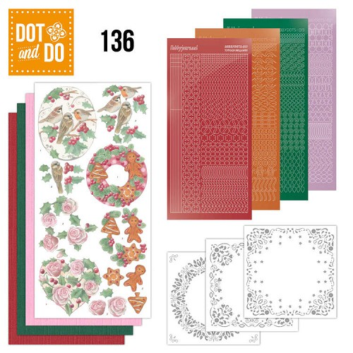 Dot and Do 136 - Christmas Florals.