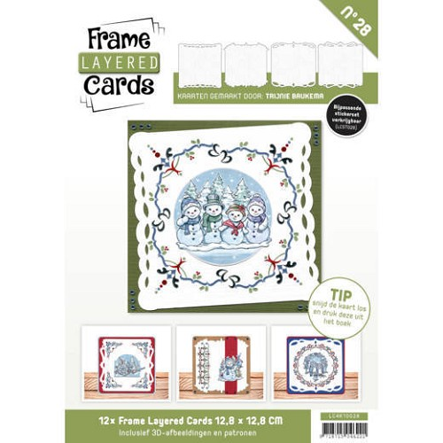 Frame Layered Cards 28 - 4K.